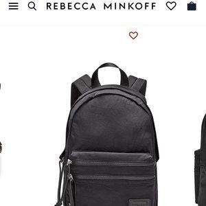 NWT Rebecca Minkoff Nylon Backpack